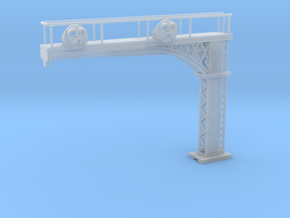Cantilever Target 3 Lamp 2 Track Z scale in Smooth Fine Detail Plastic