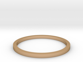 Ring Inside Diameter 14.4mm in Polished Bronze