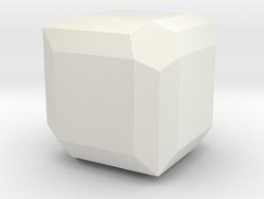 Lazurite in White Natural Versatile Plastic