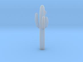 O Scale Saguaro Cactus in Smooth Fine Detail Plastic