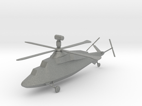 Westland WG.47A Stealth Attack Helicopter in Gray PA12: 1:144