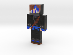 yolope30   Minecraft toy in Natural Full Color Sandstone