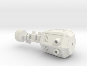 Sparks the Robot in White Natural Versatile Plastic