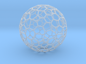 "Gigantic ""irregular"" polyhedron in Smooth Fine Detail Plastic"