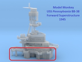 1/200 Pennsylvania Superstructure 1945 part 1 of 5 in Smooth Fine Detail Plastic