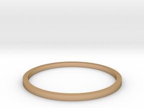 Ring Inside Diameter 17.4mm in Polished Bronze