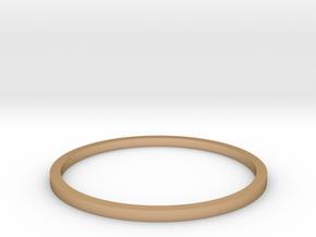 Ring Inside Diameter 18.4mm in Polished Bronze