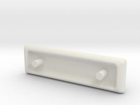 1:64 Terrastar Lightbar #2 in White Natural Versatile Plastic