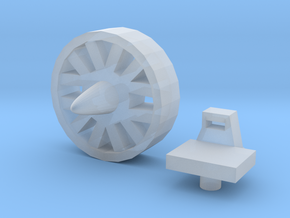 POTP Wreck-Gar Wheel Shield Accessory in Smooth Fine Detail Plastic