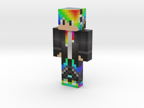 skin_rainbow | Minecraft toy in Natural Full Color Sandstone