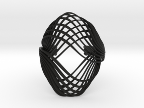 Kirida bracelet - Kukla collection in Black Natural Versatile Plastic