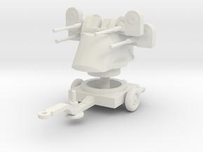 M45 Quadmount scale 1/72 in White Natural Versatile Plastic