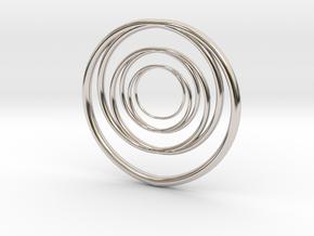 Linked Circle1 in Platinum
