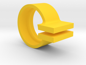 GM/Chevy spark plug boot removal tool in Yellow Processed Versatile Plastic