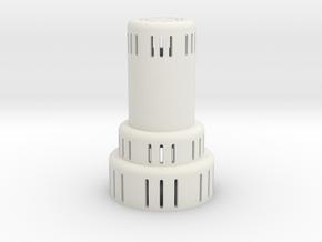 Kerosene heater in White Natural Versatile Plastic