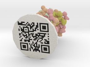 ProteinScope-1BNA-F688EDFA in Natural Full Color Sandstone