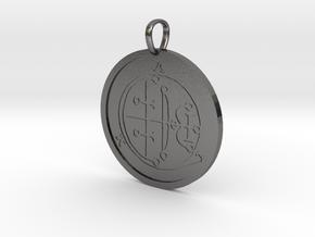 Aim Medallion in Polished Nickel Steel