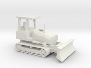 1/100 Scale Caterpillar D5G Bulldozer in White Natural Versatile Plastic