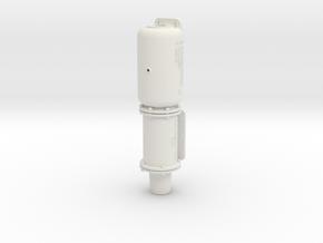 "2.5"" Scale Westinghouse KC 8x12 Brake in White Natural Versatile Plastic"