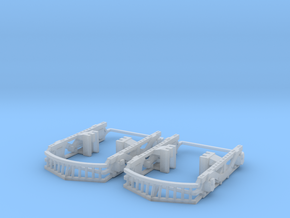 IT Class B O Scale Stanton Truck Sideframes in Smooth Fine Detail Plastic