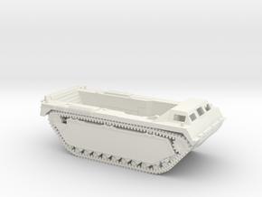 1/72 LVT-3 Amtrac 'Bushmaster' in White Natural Versatile Plastic