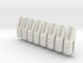 Reißzähne in White Natural Versatile Plastic