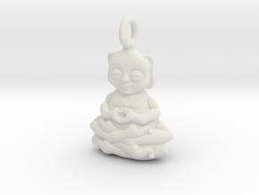 Bug Buddha  in White Natural Versatile Plastic