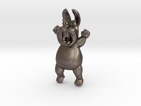 Mad Rabbit Neo Ratfink in Polished Bronzed-Silver Steel