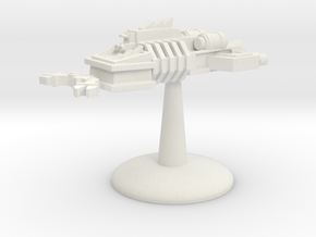 Ram Ship - v3 in White Natural Versatile Plastic