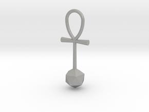 Icosahedron_energy_pendant in Aluminum