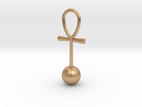 Zero Point Energy pendant in Natural Bronze
