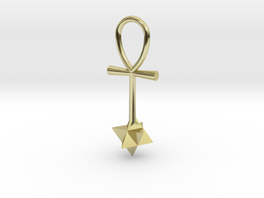 Quantum energy pendant in 18k Gold Plated Brass