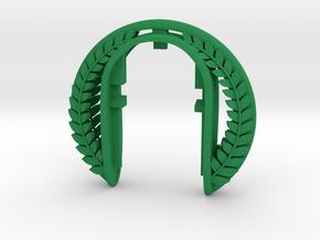 VINTAGE  XL  KEY FOB in Green Processed Versatile Plastic