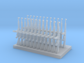 STG 44 (24 pieces) scale 1/35 in Smooth Fine Detail Plastic
