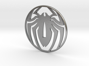 Tsuba spidey, thank you Stan , by Stef, and Pascal in Natural Silver