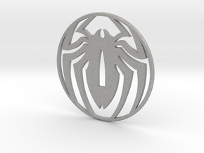 Tsuba spidey, thank you Stan , by Stef, and Pascal in Aluminum