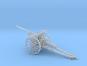 1/72 IJA Type 90 75mm Field Gun towed (horse drawn in Smooth Fine Detail Plastic