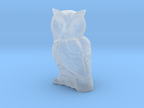 1-35 scale owl in Smooth Fine Detail Plastic