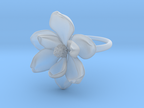 Magnolia Ring in Smooth Fine Detail Plastic: 5 / 49