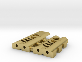 emitter add-on C (switch v1) in Natural Brass
