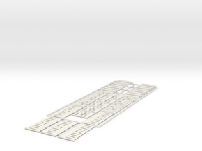1/32 Baustellensicherung 5 + 8 +22 in White Natural Versatile Plastic