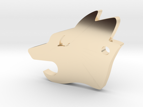Howler Pup - Wolf Pack EDC in 14K Yellow Gold