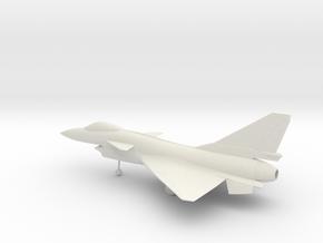 Chengdu J-10A Firebird in White Natural Versatile Plastic: 1:64 - S