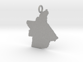 Butte County Pendant in Aluminum