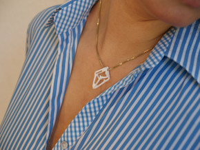 HEART TO HEART Heartron, Pendant in White Strong & Flexible Polished