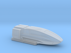 Class C Shuttle / 5cm - 2in in Smooth Fine Detail Plastic
