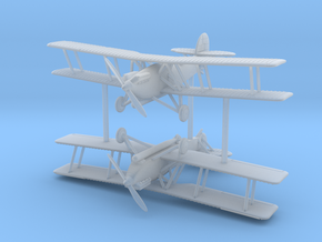 1/285 (6mm) Mitsubishi B2M1 in Smooth Fine Detail Plastic