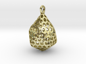 STRUCTURA Stylized, Pendant. in 18K Gold Plated