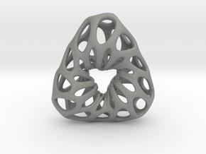 Prescious Structure Soft, Pendant. in Gray PA12