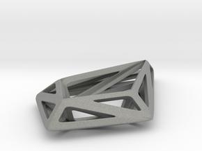 HIDDEN HEART STRUCTURA, Pendant. in Gray Professional Plastic